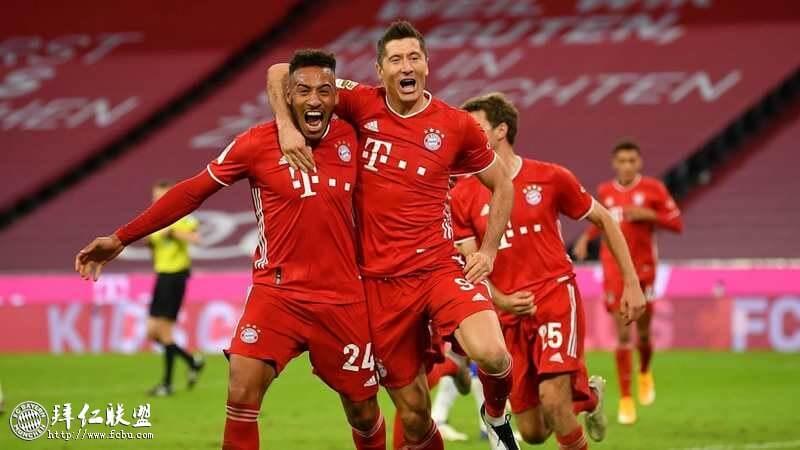 德甲第3轮 拜仁4:3柏林赫塔 莱万大四喜助拜仁艰难取胜1