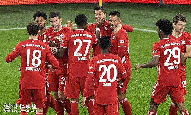 德甲第7轮 拜仁客场逆转登顶 国家德比4连胜!1