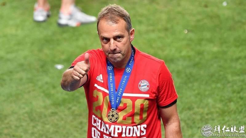 弗里克荣膺欧足联年度最佳教练1