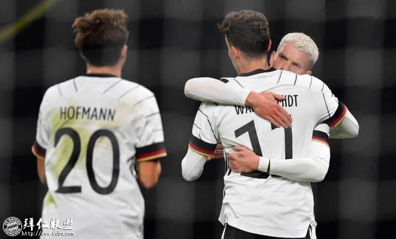 友谊赛 德国1:0捷克 瓦尔德施密特建功小胜1