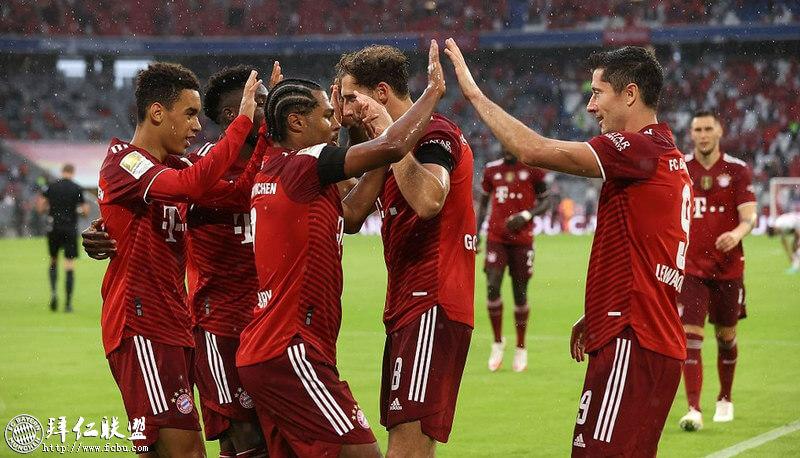 德甲第2轮 拜仁3:2科隆 格纳布里梅开二度救主