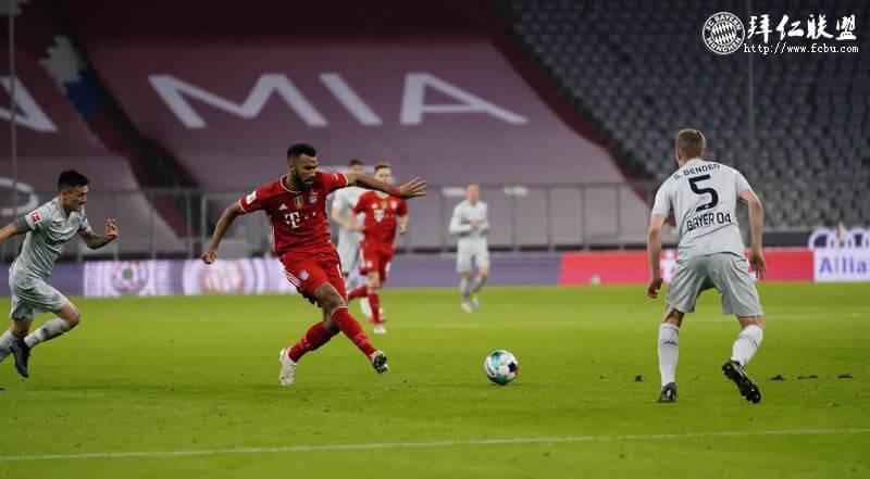 德甲第30轮 拜仁2:0勒沃库森 舒波莫廷又又又进球 基米希建功