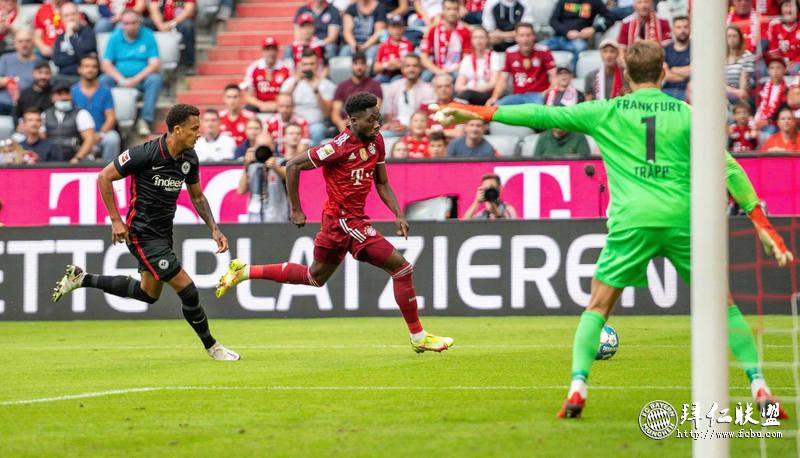 德甲第7轮 拜仁两年以来首次主场输球1:2不敌法兰克福 特拉普封神