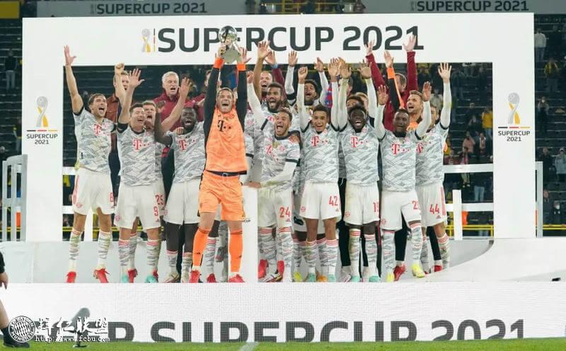 多特1:3拜仁 莱万穆勒进球 成功卫冕德国超级杯冠军