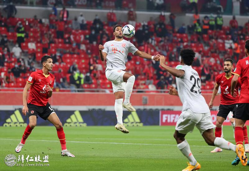 世俱杯 开罗国民0:2拜仁 莱万双响助拜仁进决赛1
